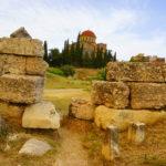 アテネ観光。石ばっかりで飽きた