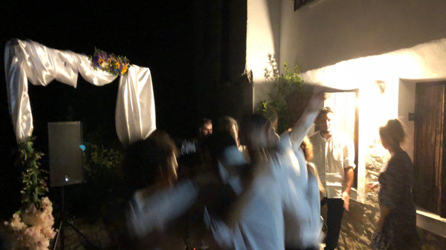 ギリシャ タソス編3 ギリシャのローカル結婚式 当日