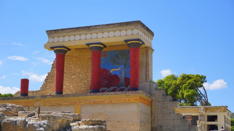 最古のエーゲ文明 ミノア文明の中心地クノッソス宮殿へ!