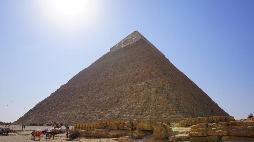 カイロのピラミッド巡り