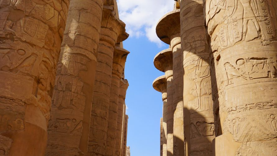 僕らの値段交渉の様子とカルナック神殿