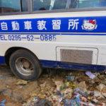 旅で最も汚かった場所、マラウイの首都リロングウェへ。そしてマラウイからの旅立ち、ザンビアへ